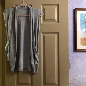 Forever 21 Long duster vest